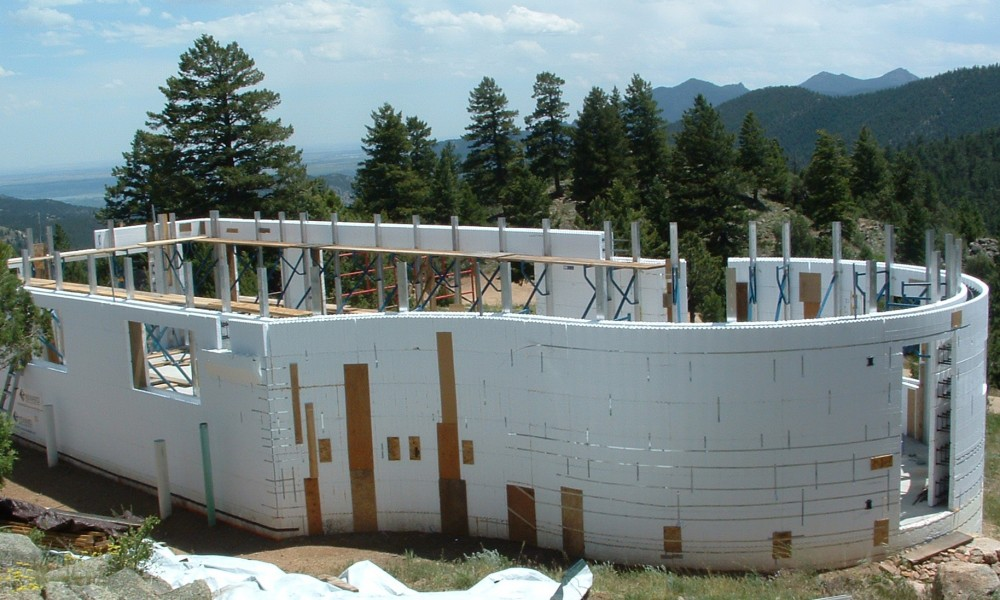 Icf construction cpe for Icf homes